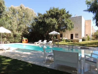 Photo for Brandnew Luxury Stone Villa with Private Pool at only 250 m from the Beach!