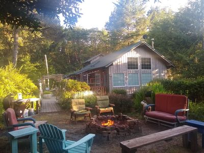 Photo for OPEN July 14/15th - Nice Private Outdoor Space-Kid/Dog Friendly-Firepit/BBQ/Deck