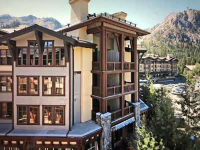 Photo for Village at Squaw Valley Penthouse- One bedroom, one bath (sleeps 4).