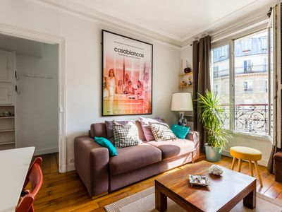 Photo for A charming & cosy apartment close to Montmartre and the Sacre Coeur! (veeve)