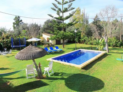 Photo for Toni Corona villa with large garden and a big pool 168