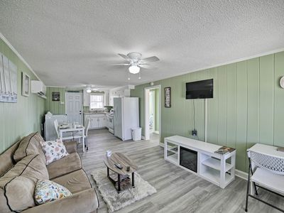 Photo for Myrtle Beach Apartment w/ Yard - Steps to Beach!