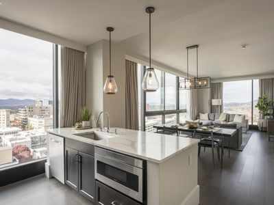 Photo for Downtown Mountain-View Luxury Condo. Arras Residences - Unit #1009