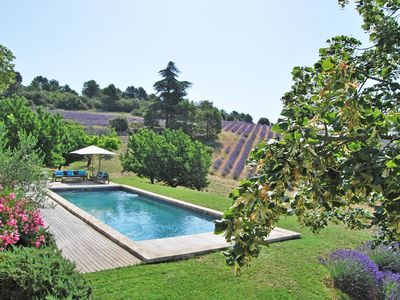 Photo for Splendid Provencal Mas with breathtaking view