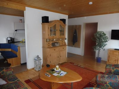 Photo for Oberstaufen / Steibis Apartment 2 rooms 54 m2, Allgäu Walsercard
