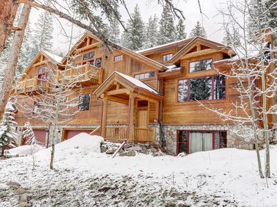 Photo for Breckenridge Luxury Vacation Home! Skiing, Mtn Views, Hot Tub, Movie Screen!
