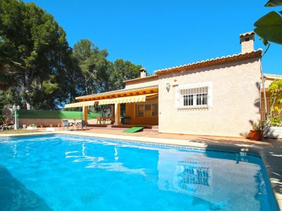 Photo for Vacation home La Sal (MRA233) in Moraira - 7 persons, 3 bedrooms
