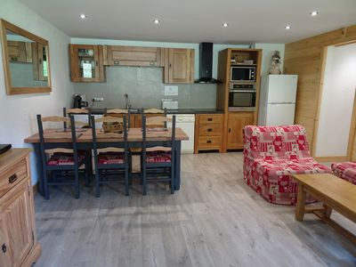 Photo for La Plagne, Les Coches: Apt 6/7 pers. spacious and comfortable