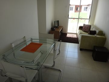 Apartment with 2 bedrooms and pool - Ajuricaba Suites 3