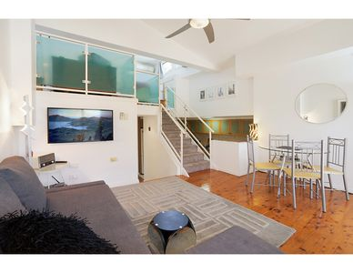Photo for Loft Style Apartment minutes walk from the city