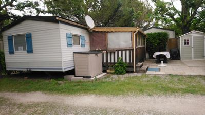 Photo for 32m² mobile home in a 4-star campsite in the GARD