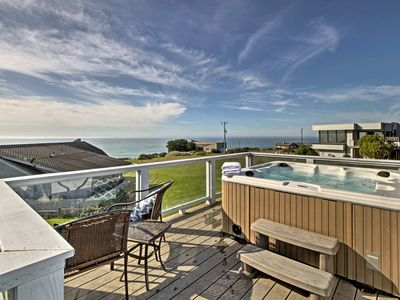 Photo for Irish Beach Home w/Rooftop Hot Tub & Ocean Views!