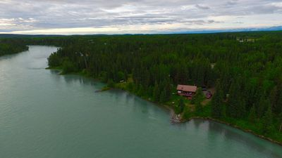 Photo for Comfortable Fishing Cabin With Kenai River Fishing At Your Doorstep
