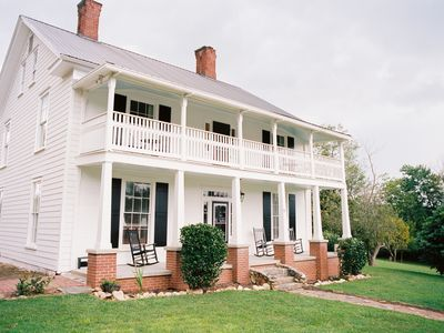 Photo for Quintessential Farmhouse Experience In The Heart Of Downtown Dahlonega.