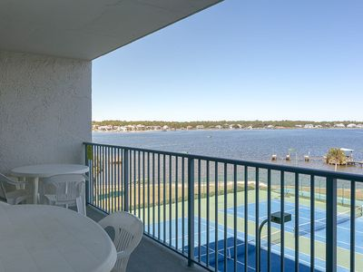 Photo for Bright, Open Condo with Lagoon view, Guest Boat Launch/Fishing Pier, Steps to The Beach