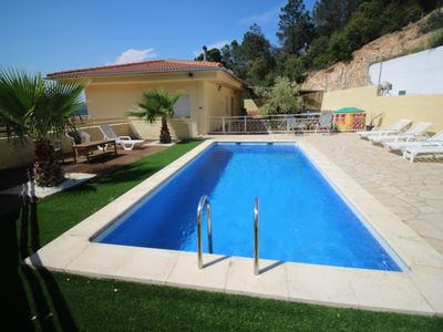 Photo for HOLIDAY VILLA 4 Km. THE BEACH FOR 8-12 GUESTS PRIVATE POOL