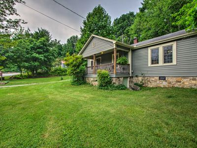 Photo for NEW! 'Trailside Cottage' in Hot Springs w/Hot Tub!