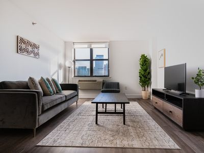 Photo for Modern Charm 2 BR Garden St. - 15min To NYC