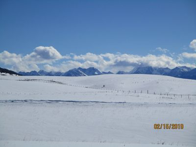 Photo for close to yellowstone park. bring your horses and fishing poles.