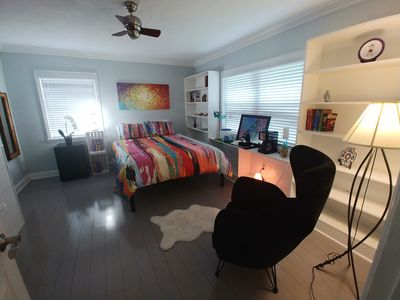 Photo for Deluxe Queen Suite In Gorgeous Pool Home Close To Everything! Pet Friendly!