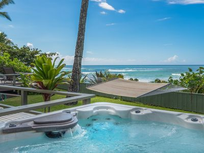 Photo for Beachfront | SeaTurtles | Sunsets | Spa | GameRoom