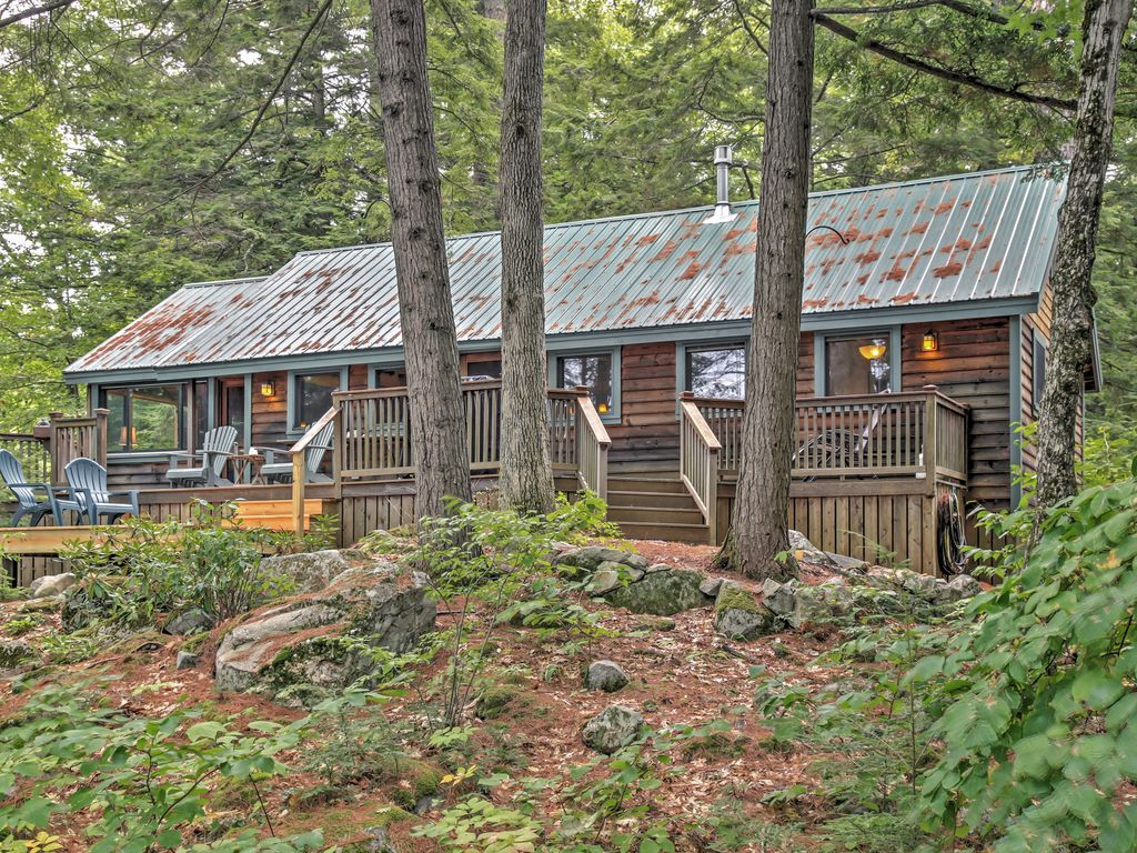 New 4br Lakefront Denmark Cottage Denmark Western Maine