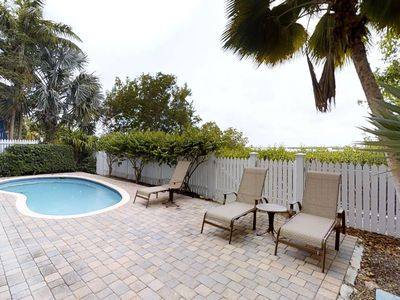 Photo for Comfortable, waterfront home w/ covered lanai, pool, Jacuzzi tub - lovely views