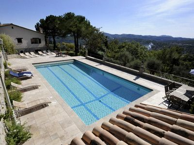 Photo for Luxury villa with large pool on a fabulous location with great views