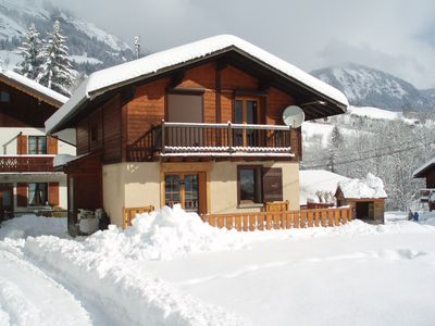 Photo for INDIVIDUAL CHALET 8 PERSONS - A 300 METERS FROM SKI AREA DIAMOND