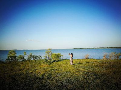 Photo for Beautiful lake front home in quiet rural Collin County near Dallas