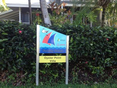 oyster point villa  Hinchinbrook harbour , port Hinchinbrook, south cardwell