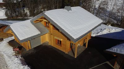 Photo for / BEAUTIFUL CHALET IN WOOD NINE 8/10 PERS