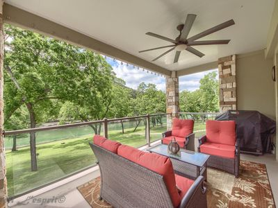 Photo for Brand New Listing!! Amazing 3/2 Condo on the Guadalupe River sleeps 8!