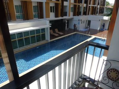 Photo for 1 Double bedroom Apartment with pool