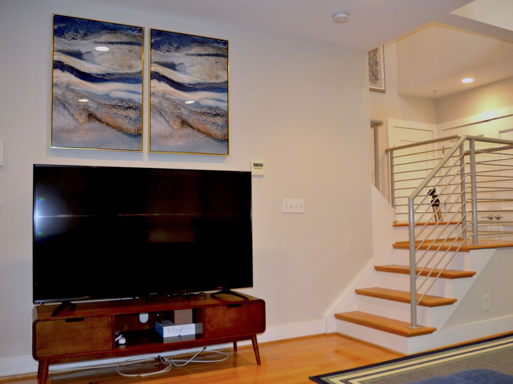 modern duplex in center of historic georgetown and the c o canal