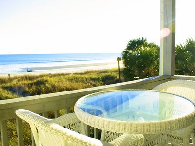 Photo for MAY AND JUNE DEALS!  2 Bedroom 2 bath Oceanfront Condo with and Outdoor Pool and Great Views!