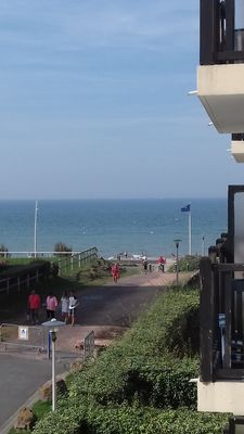 Photo for TWO PIECES SEEN ON SEA. POOL AND TENNIS CABOURG