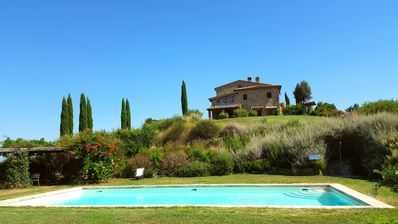 Photo for Old Farm House 25 km Siena in Front of Montalcino with Pool/taking cooking class