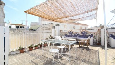 Photo for Studio apartment with a beautiful terrace in the center of Gallipoli