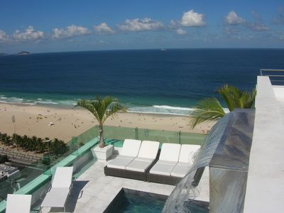 Photo for Luxurious Penthouse - Rio de Janeiro with terrace and private swimming poolLuxury Apartment