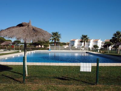 Photo for 2ºPLANTA WITH COMMON POOL, GREAT GARDEN, PADDLE TRACK, WIFI, GARAGE.