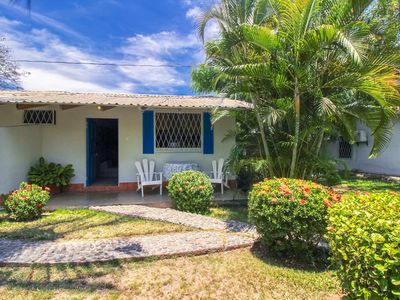 Photo for Inviting oceanfront villa w/ shared pool, gardens & beach access!