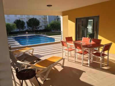 Photo for Huge Apartment.Terrace & Balcony Overlooks Pools+Secure Private Gardens.WiFi &TV
