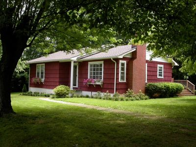 Photo for NEW Asheville listing! - Hot tub, Fire Pit, Fenced yard, Peaceful and +Dogs