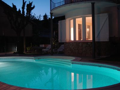 Photo for Dream vacation! Beautiful and large villa with pool, nature and calm
