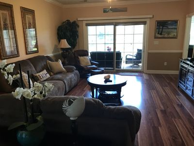 Photo for Stunning First Floor Condo in Myrtlewood Villas