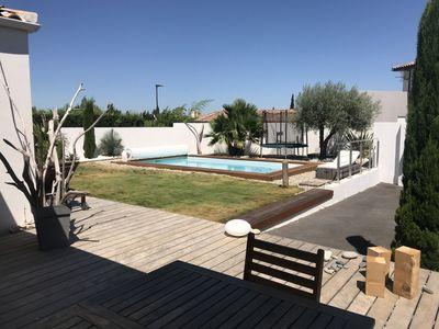 Photo for Villa with swimming pool, near Cap d'Agde and Pézenas