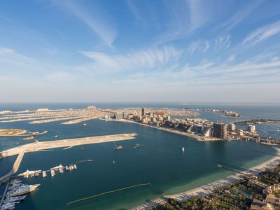 Photo for The Highest 170 sqm Terrace on the 75th floor / 3 bedroom penthouse