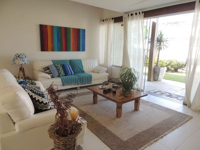 Photo for Great house overlooking Manguinhos Beach