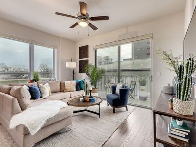 Photo for Stayloom's Luxe Lofty Living | on Rainey Street